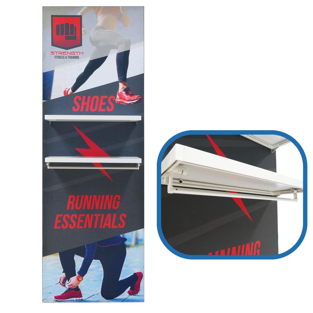 Lumiere Light Wall External Shelf